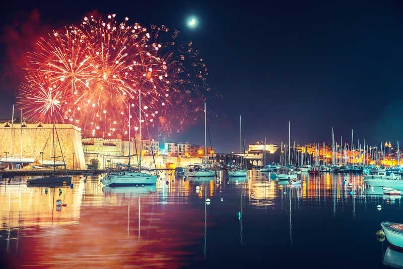 Malta's Fireworks