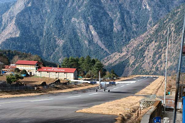 Lukla Airport in Nepal is the worlds most dangerous airport