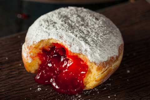 Traditional Polish Doughnut