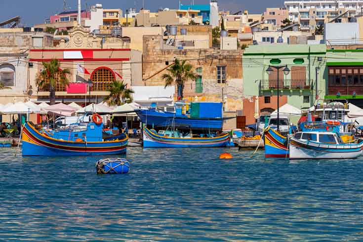 Fishing Village of Marsaxlokk