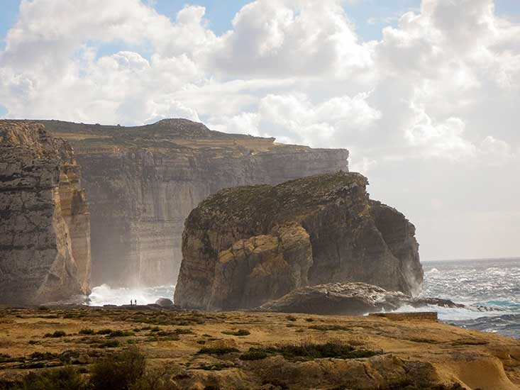 Dwejra Bay Gozo Malta
