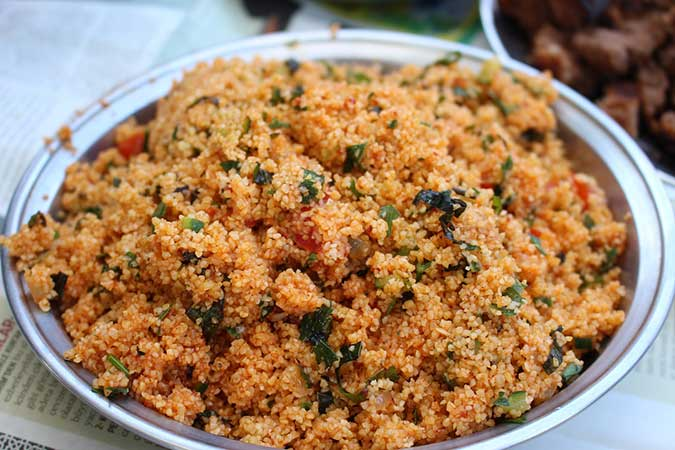 Armenian Bulgur Salad