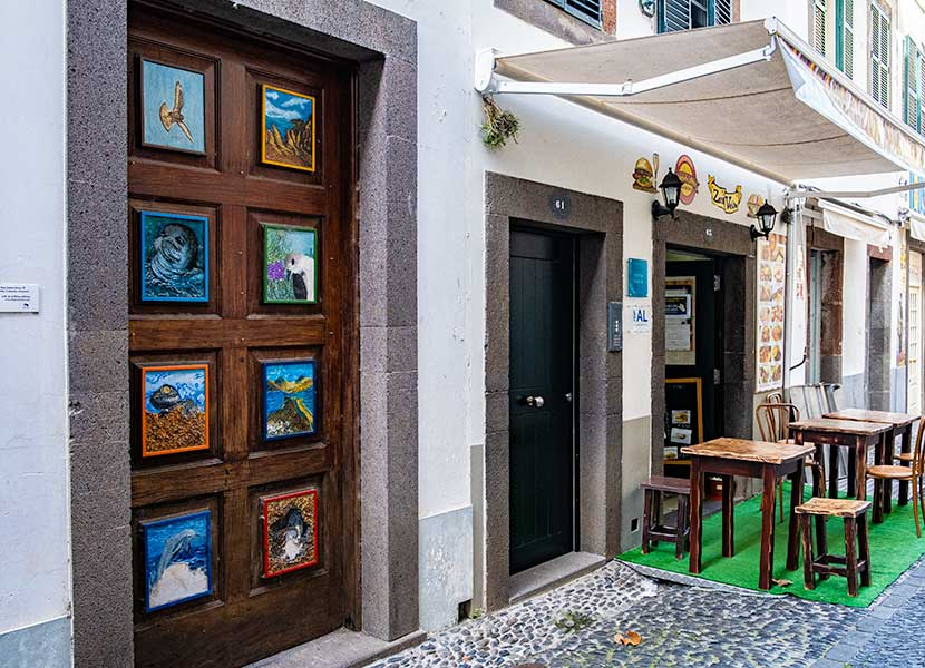 Funchal Old Town and Inspiring Story of its Painted Doors