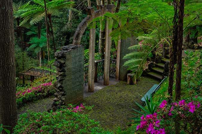Monte Palace Tropical Garden in Funchal