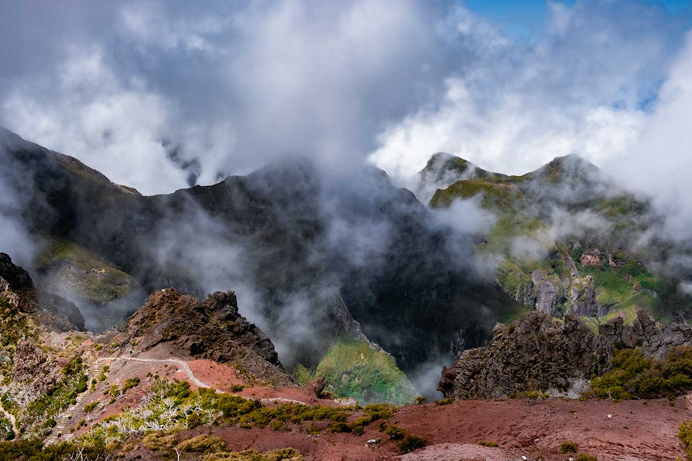 Hikes in Madeira You Can do Without the Car
