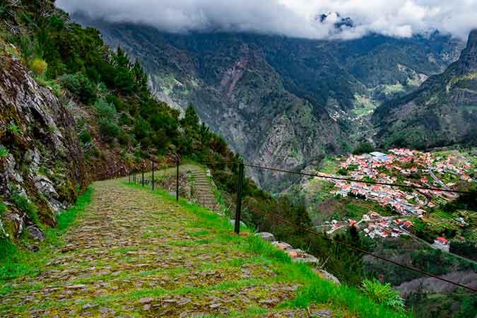 Nuns Valley (Curral das Freitas) - Story of Madeira Pirate Attacks