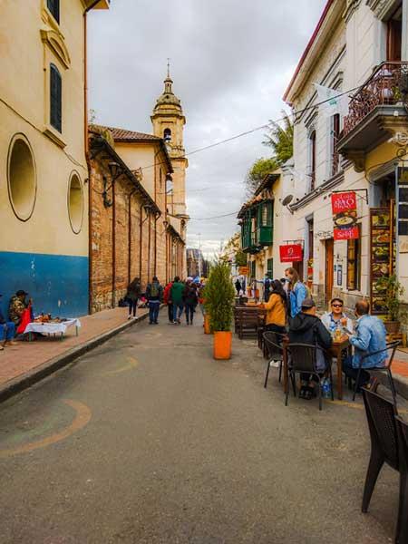 Pati's Weekly Bite - Back in Bogota